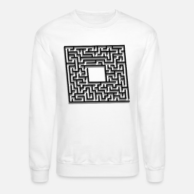 The Maze Runner labyrinth maze runner gift present - Unisex Crewneck Sweatshirt
