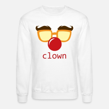 clown face - Unisex Crewneck Sweatshirt