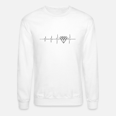 Luxury Heartbeat for luxury - Unisex Crewneck Sweatshirt