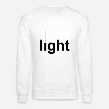 Lighting Light - Unisex Crewneck Sweatshirt
