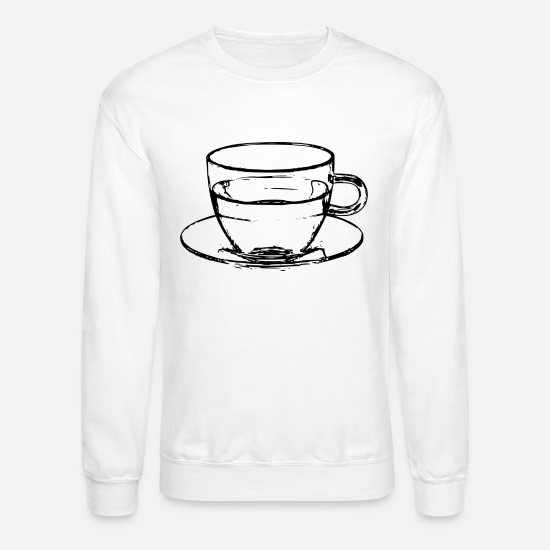 Shopping Hoodies & Sweatshirts - coffee cup beans cafe mug pot kaffee bohnen129 - Unisex Crewneck Sweatshirt white