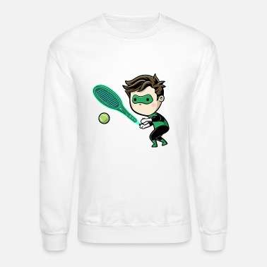 sporty green - Unisex Crewneck Sweatshirt