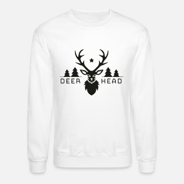 Deer Head Forest deer head - Unisex Crewneck Sweatshirt