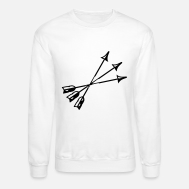Arrow arrows - Unisex Crewneck Sweatshirt