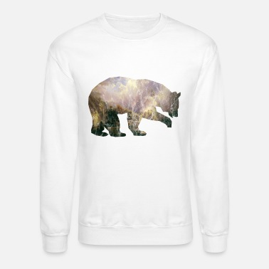 Bear Mountains Vintage Gift Idea - Unisex Crewneck Sweatshirt