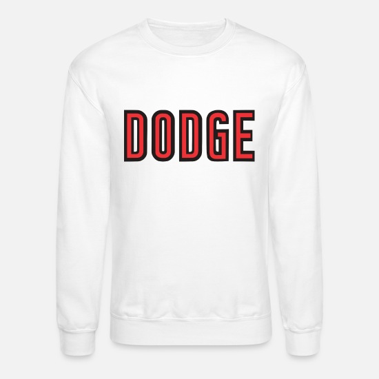 Charger Hoodies & Sweatshirts - Dodge - Unisex Crewneck Sweatshirt white
