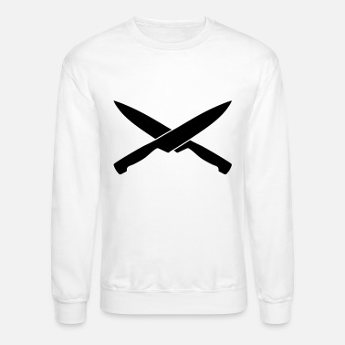 Smutje knife, Pirate, cook - Unisex Crewneck Sweatshirt