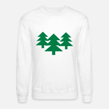 Tree Wood - Tree - Trees - Unisex Crewneck Sweatshirt