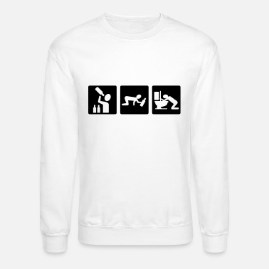 Irony alcohol - Unisex Crewneck Sweatshirt