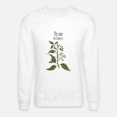 Phone Covers Flowers Ladies TShirt Aesthetic Motif Gift Idea - Unisex Crewneck Sweatshirt
