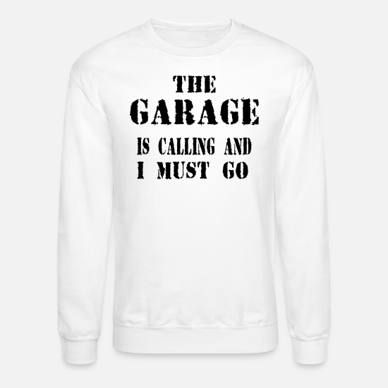 Birthday Hoodies & Sweatshirts - GARAGE - Unisex Crewneck Sweatshirt white