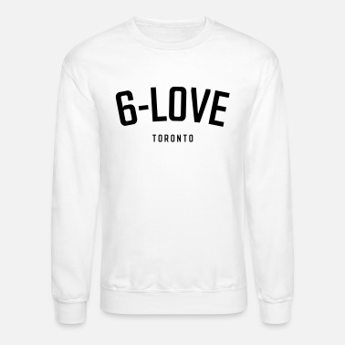 6-Love Toronto - Black on White - Crewneck Sweatshirt