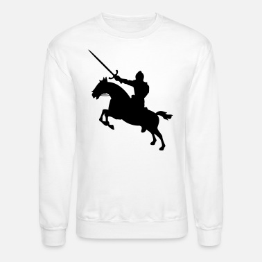 Knight On Horse Silhouette Mens T Shirt