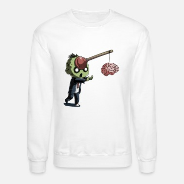 Zombie Motivation - Unisex Crewneck Sweatshirt