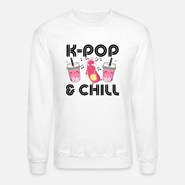Korean Pop Korean Pop and Chill - Unisex Crewneck Sweatshirt