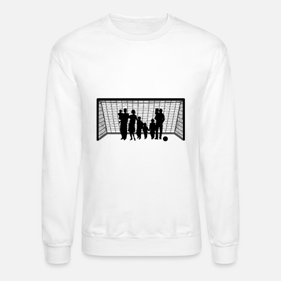 Ball Hoodies & Sweatshirts - Fitness Family - Unisex Crewneck Sweatshirt white