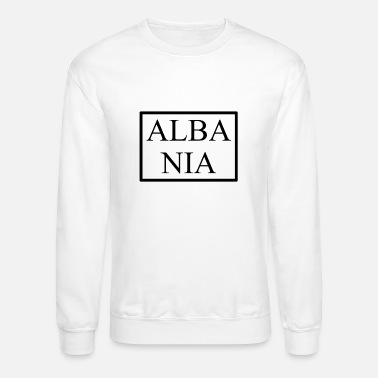 Love You Funny Albanian Saying out of Albanian Gift Idea - Unisex Crewneck Sweatshirt