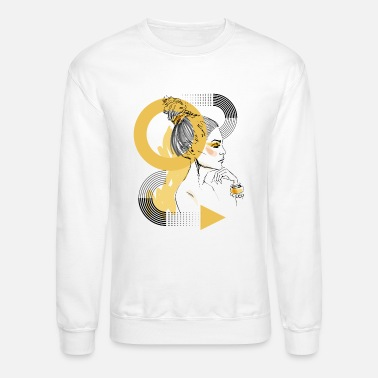 Fashion Art Fashion Art Girl - Unisex Crewneck Sweatshirt