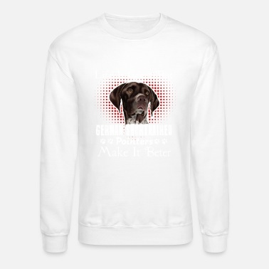German Shorthaired Pointer German Shorthaired Pointer Sweet Shirt - Crewneck Sweatshirt