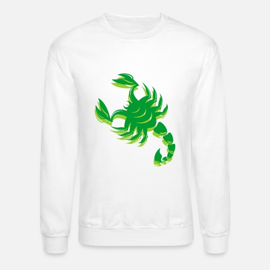 Venom Hoodies & Sweatshirts - Funny Scorpion - Pinchers - Tail Stinger - Venom - Unisex Crewneck Sweatshirt white