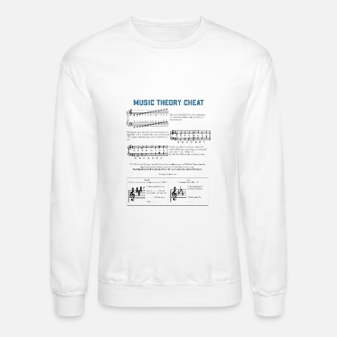 Musician Music Theory Graphic - Unisex Crewneck Sweatshirt