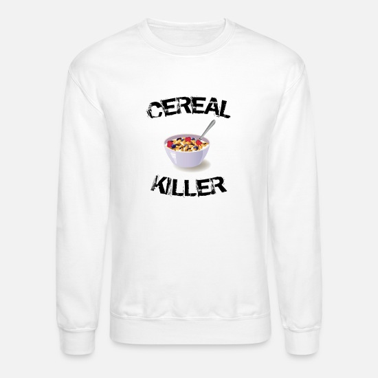Moms Favorite Funny Graphics Cereal Killer Unisex Crewneck Sweater