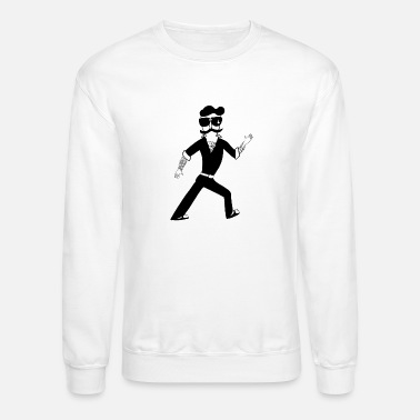 D H Kim The Famous Mr Warrior - Unisex Crewneck Sweatshirt