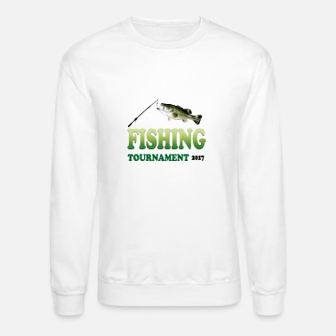 Fishing Tournaments FISHING TOURNAMENT 2017 - Crewneck Sweatshirt