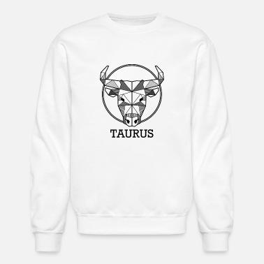 8497aca92 Taurus zodiac sign geometric hipster gift birthday - Unisex Crewneck  Sweatshirt