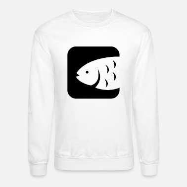 Fish Head Fish head animal - Crewneck Sweatshirt