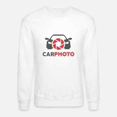 Photo Montage Car Photo - Unisex Crewneck Sweatshirt