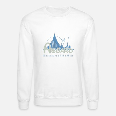 Asgard Asgard Enclosure of the Æsir + fabric effect - Unisex Crewneck Sweatshirt