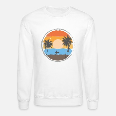 Sunset Retrô - Unisex Crewneck Sweatshirt