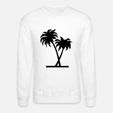 Palm Trees palm - palm tree - Unisex Crewneck Sweatshirt