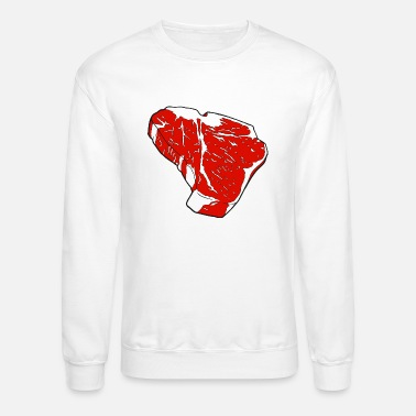 T-Bone Steak - Unisex Crewneck Sweatshirt