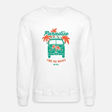 Surfer Bus - Crewneck Sweatshirt