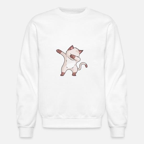 9a5be7960 Kids Hoodies & Sweatshirts - Cat Funny Dabbing Dancing Dab Dance T-Shirt -  Unisex