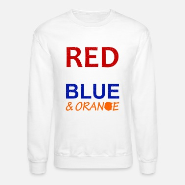 Red White And Blue Red White Blue and Orange - Crewneck Sweatshirt