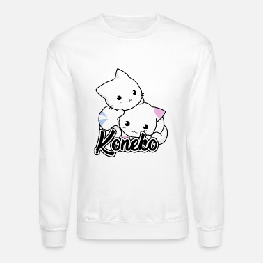 Tiger Koneko Cats - Crewneck Sweatshirt