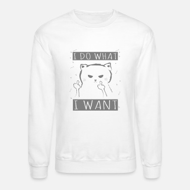 a9c83e35a7 Funny Novelty Gift For Cat Lover - Unisex Crewneck Sweatshirt