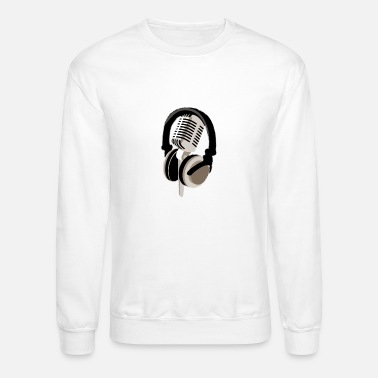 Headphones Headphones - Unisex Crewneck Sweatshirt