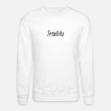 Plain Simplicity is beauty-best design summer amazing - Crewneck Sweatshirt