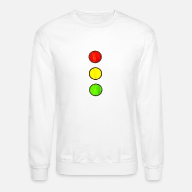 Driving School traffic light vintage driving school - Unisex Crewneck Sweatshirt