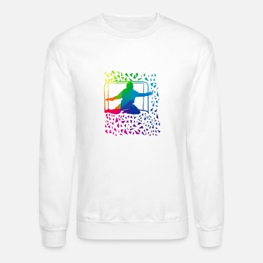 Goalkeeper goalkeeper, floorball, gift - Unisex Crewneck Sweatshirt