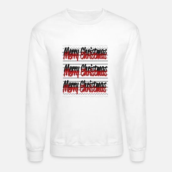 Gift Idea Hoodies & Sweatshirts - Merry Christmas xmas gift idea - Unisex Crewneck Sweatshirt white