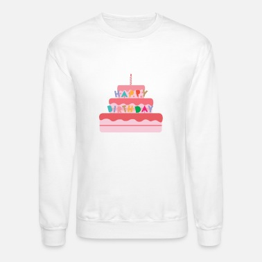 Hardcore Happy Birthday Cake Geburtstag - Unisex Crewneck Sweatshirt