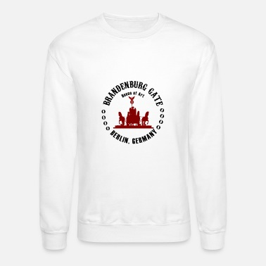 Word Brandenburg Gate Berlin - Unisex Crewneck Sweatshirt
