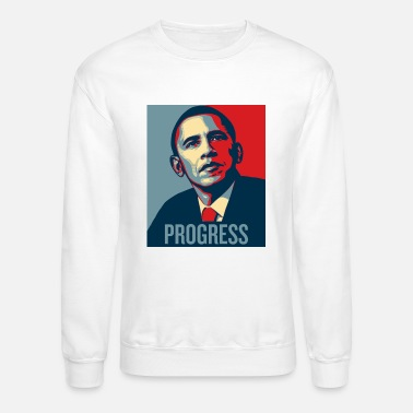 Obama Barrack Obama Progress - Unisex Crewneck Sweatshirt