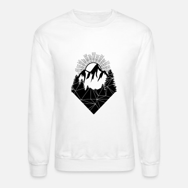 Mountains Mountain - Unisex Crewneck Sweatshirt