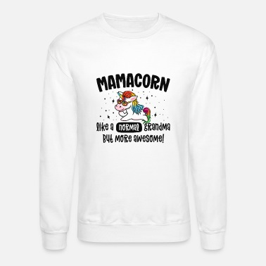 Mamacorn Shirt For Women Matching Family Aunt To - Unisex Crewneck Sweatshirt